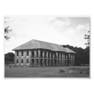 Impresión de la foto de la casa del vintage fotografía