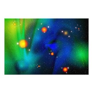 Impresión de la foto de la espuma de Quantum Fotografía