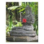 Impresión de la foto de la estatua de Bali