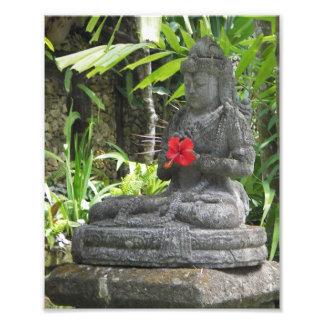 Impresión de la foto de la estatua de Bali Fotografía