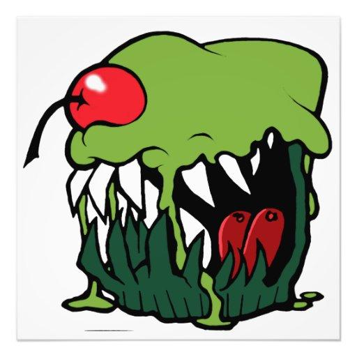 impresión de la foto de la magdalena del zombi