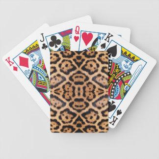Impresión de la foto de la piel de Jaguar Cartas De Juego