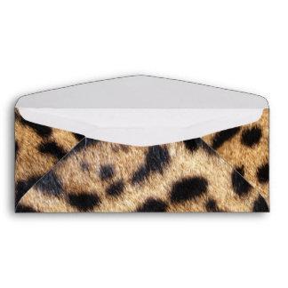 Impresión de la foto de la piel de Jaguar Sobres