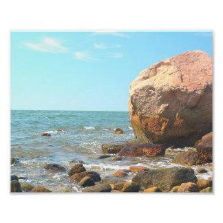 Impresión de la foto de la playa de Hammonasset Fotografías
