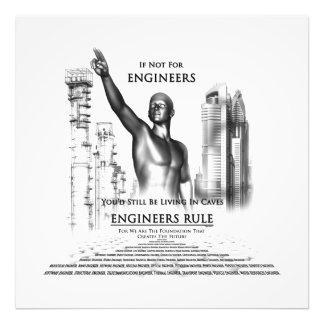 Impresión de la foto de la regla de los ingenieros