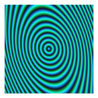 Impresión de la foto de los anillos de la turquesa fotografía