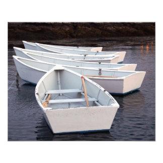 Impresión de la foto de los botes de remos
