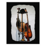 Impresión de la foto de los instrumentos musicales