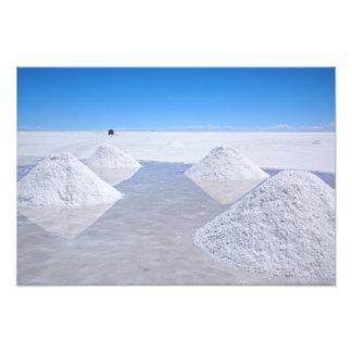 Impresión de la foto de los planos de la sal de fotografías