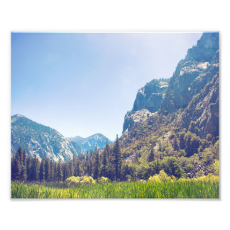 Impresión de la foto de reyes Canyon Meadow Fotografías