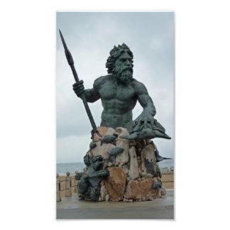 Impresión de la foto de Virginia Beach de la estat Cojinete