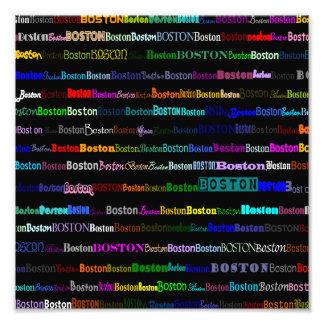 Impresión de la foto del diseño I del texto de Bos