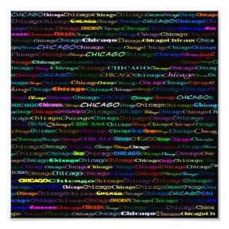 Impresión de la foto del diseño I del texto de Chi Fotografía