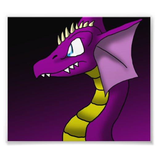 Impresión de la foto del dragón 3/24/13