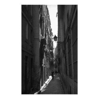 Impresión de la foto del EL Callejon (Barcelona, E