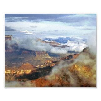 Impresión de la foto del Gran Cañón
