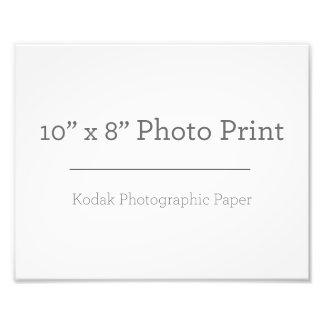 Impresión de la foto del personalizado 10 x 8