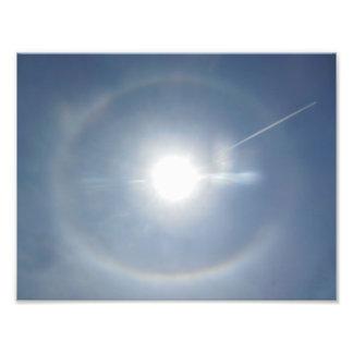 Impresión de la foto del rastro de condensación fotografías