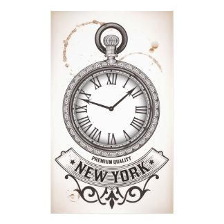 Impresión de la foto del reloj de bolsillo de cojinete