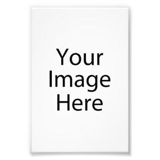 impresión de la foto del satén 4 x 6 profesional
