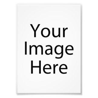 impresión de la foto del satén 5 x 7 profesional