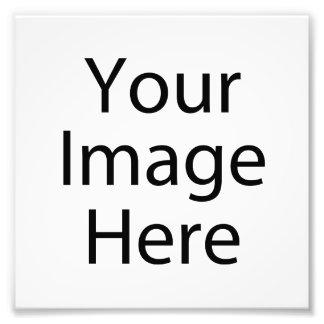 impresión de la foto del satén 6 x 6 profesional