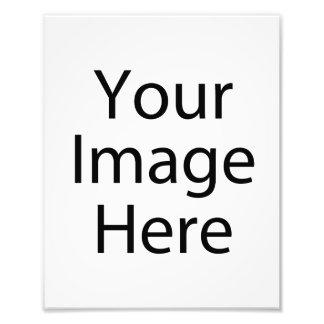 impresión de la foto del satén 8 x 10 (profesional cojinete