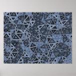 Impresión de la geometría 2 de Quantum Poster