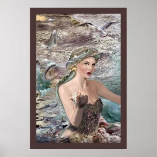 ¡Impresión de la hija de Oceanus! Posters