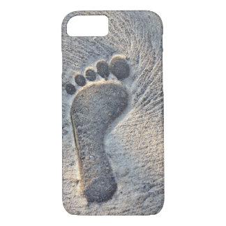 Impresión de la huella - caja del teléfono funda iPhone 7