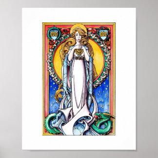 Impresión de la Inmaculada Concepción - a todo col Poster
