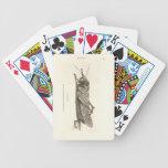 Impresión de la langosta cartas de juego