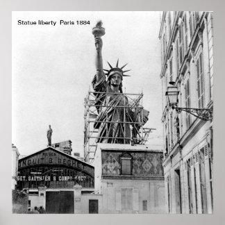 Impresión de la libertad de la estatua posters