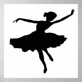 Impresión de la lona Dancer1 Posters