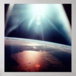 Impresión de la lona de Apolo 7 la Florida Poster