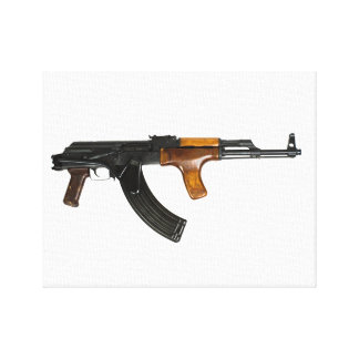 Impresión de la lona de bella arte de AK-47 Impresiones En Lona