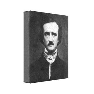 Impresión de la lona de Edgar Allan Poe Impresiones En Lienzo Estiradas