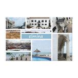 Impresión de la lona de Elmina Lona Envuelta Para Galerías