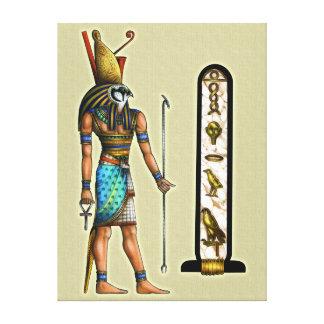 Impresión de la lona de Horus Lienzo Envuelto Para Galerias
