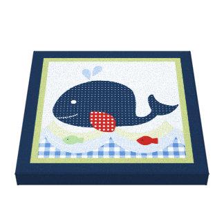 Impresión de la lona de Jackson//Whale/Fish Impresiones En Lona Estiradas