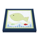 Impresión de la lona de Jackson//Whale/Fish Impresión De Lienzo