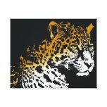 Impresión de la lona de Jaguar Impresión En Lona Estirada