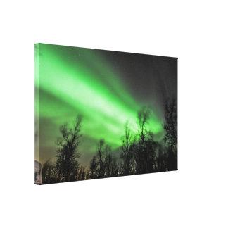 Impresión de la lona de la aurora boreal impresión en lona