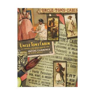 Impresión de la lona de la cabina de tío Tom del Impresión En Lona