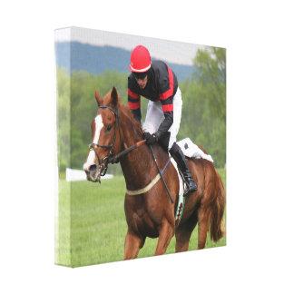 Impresión de la lona de la carrera de caballos del impresión en lona