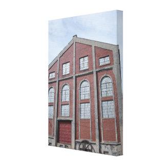 Impresión de la lona de la casa del alzamiento de  lona estirada galerías