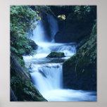 Impresión de la lona de la cascada de Quinalt Impresiones
