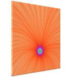 Impresión de la lona de la explosión del color de  lona estirada galerías