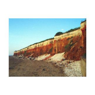 Impresión de la lona de la foto del acantilado de impresiones de lienzo