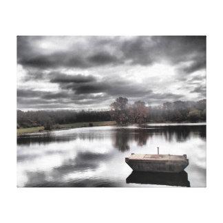 Impresión de la lona de la fotografía del paisaje